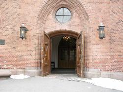 2. påskedag i Vestre Aker kirke, Oslo, 24.03.2008. Fra kirke