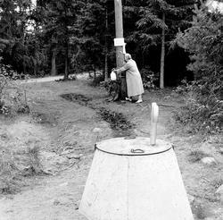 Østfold, august 1961, besøk på forskjellige campingplasser.