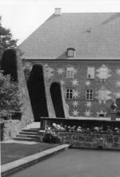 Krapperups slott i Höganäs, Skåne.