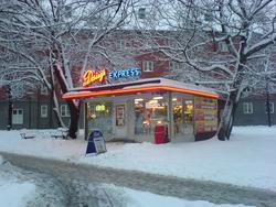 Korvkiosk Daisys express, Ringvägen Stockholm