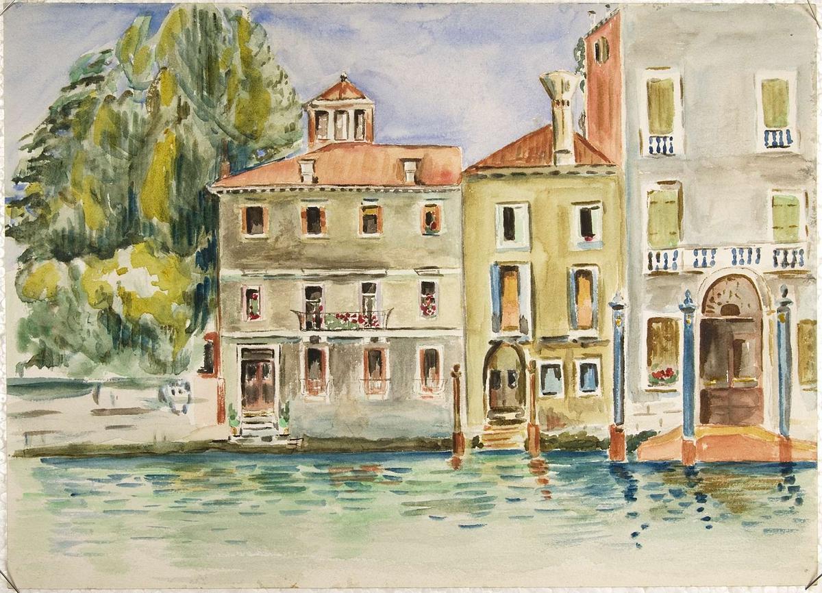 Byggnader i Venedig.