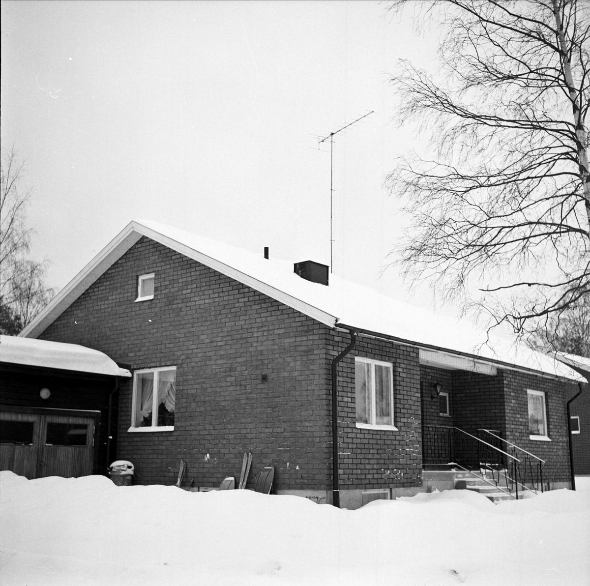 Villa, sannolikt i Söderfors, Uppland 1967