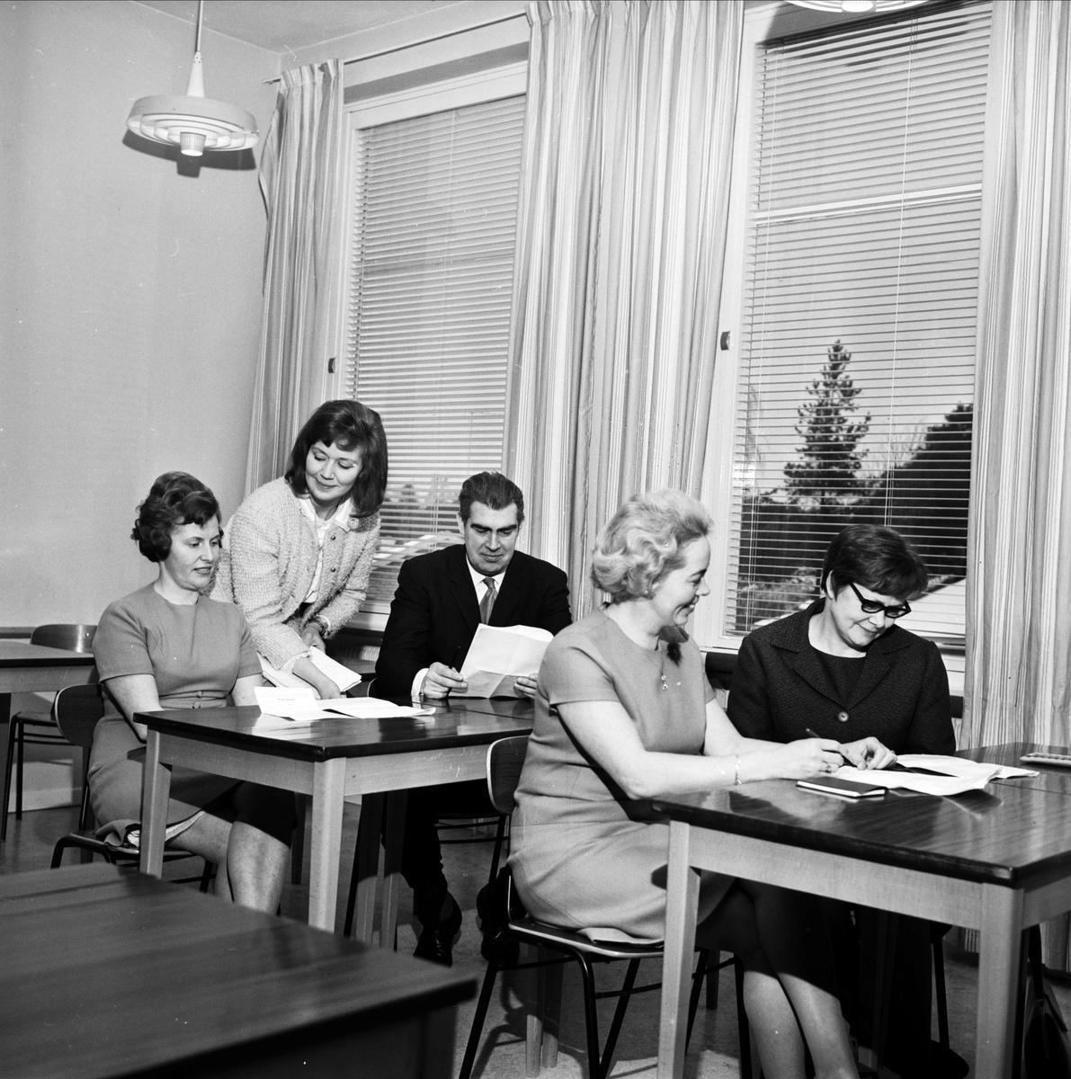 Studiedag i Tierp, Uppland 1967