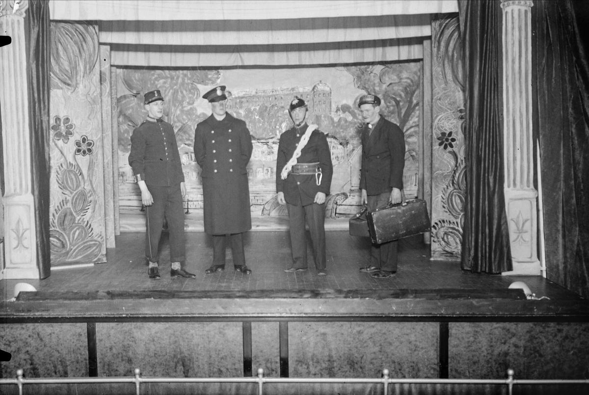 Teaterföreställning i Uppsala 1933