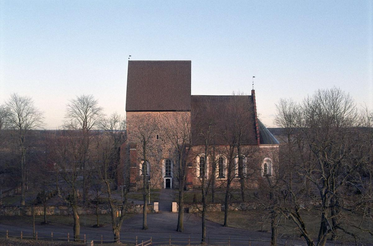 Gamla Uppsala kyrka, Uppland 1993