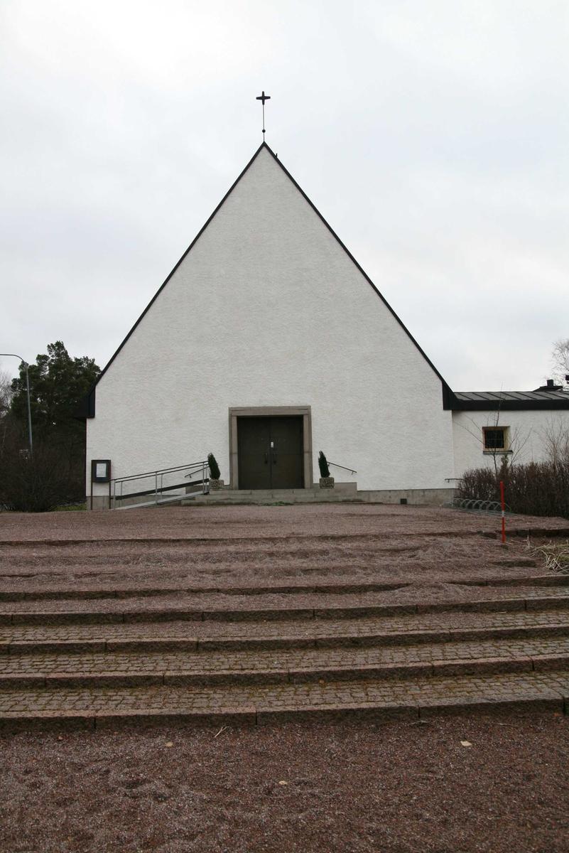 Eriksbergskyrkan, Eriksberg, Uppsala 2008