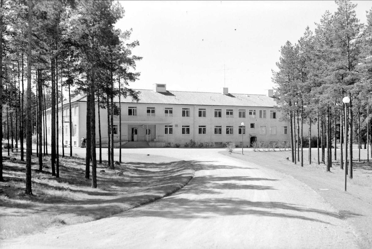 Älvbodaskolan i Skutskär, Älvkarleby socken, Uppland 1962