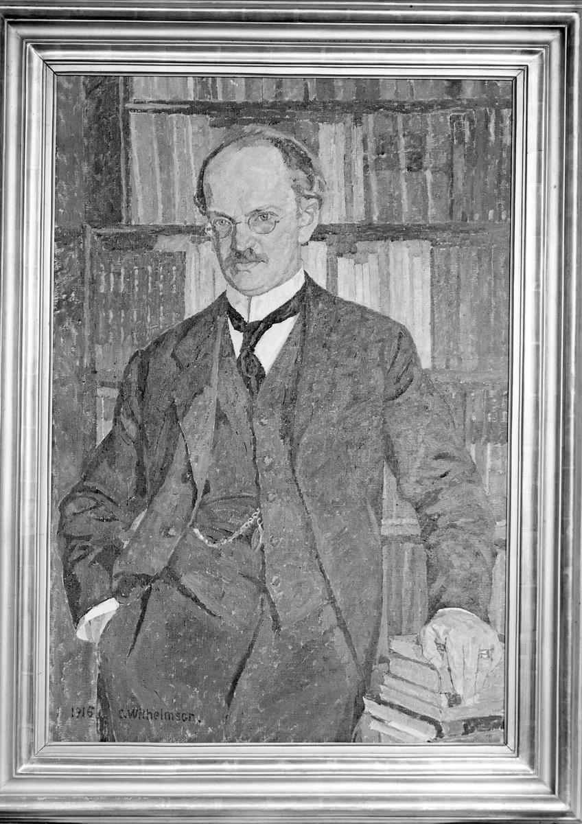 Akvarell av konstnären C. Wilhelmson 1916