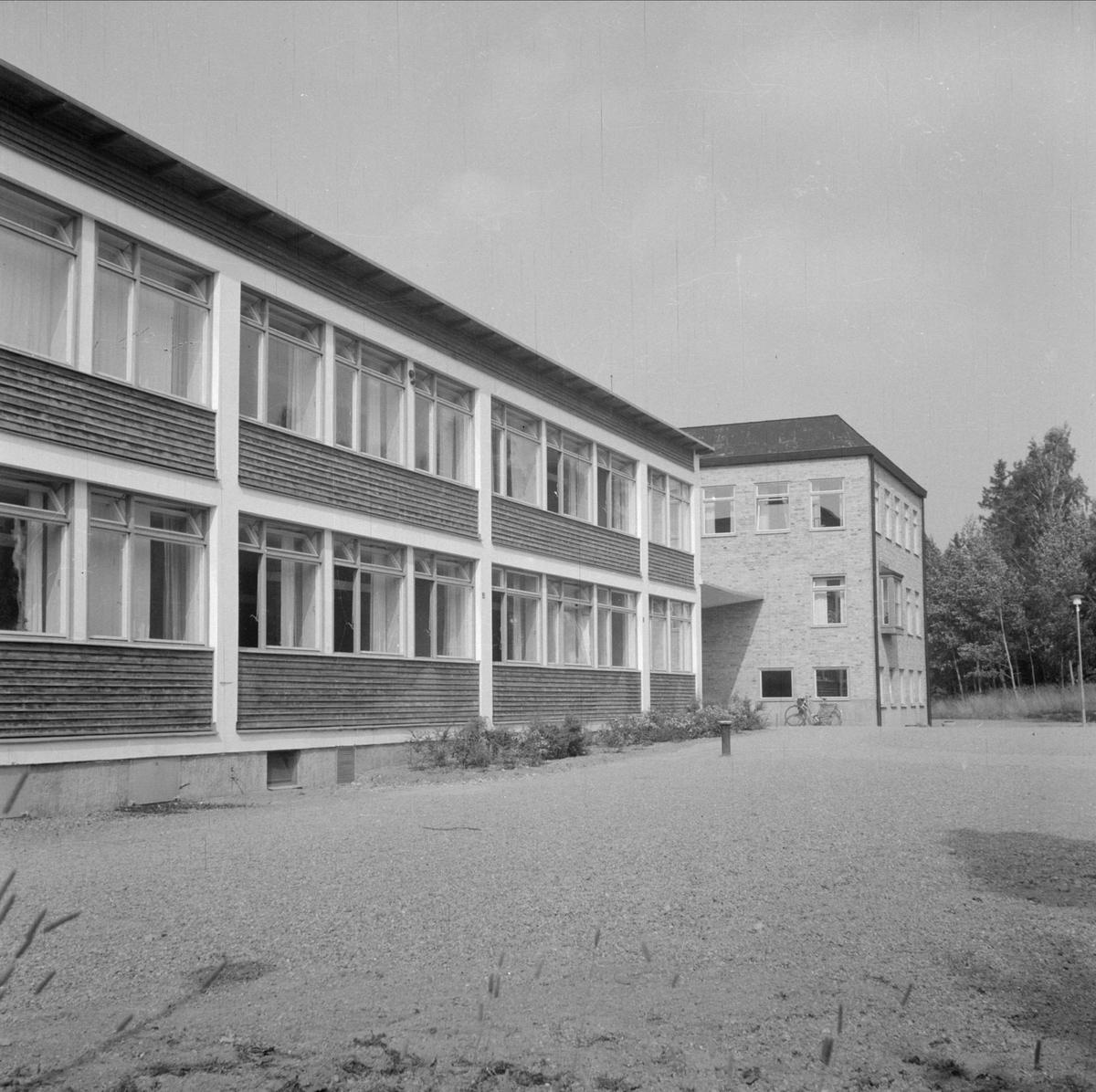 Skolbyggnad, sannolikt i Uppsala