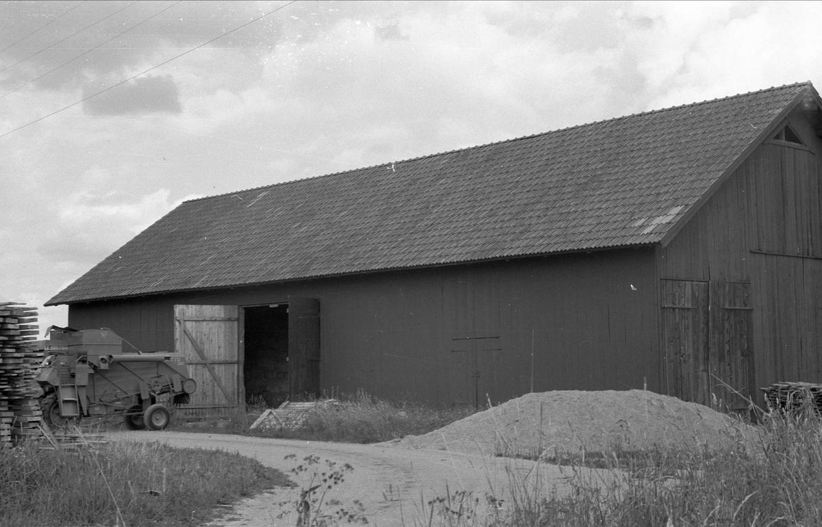 Maskinhall, Svista 3:1, Yttergärdet, Bälinge socken, Uppland 1976