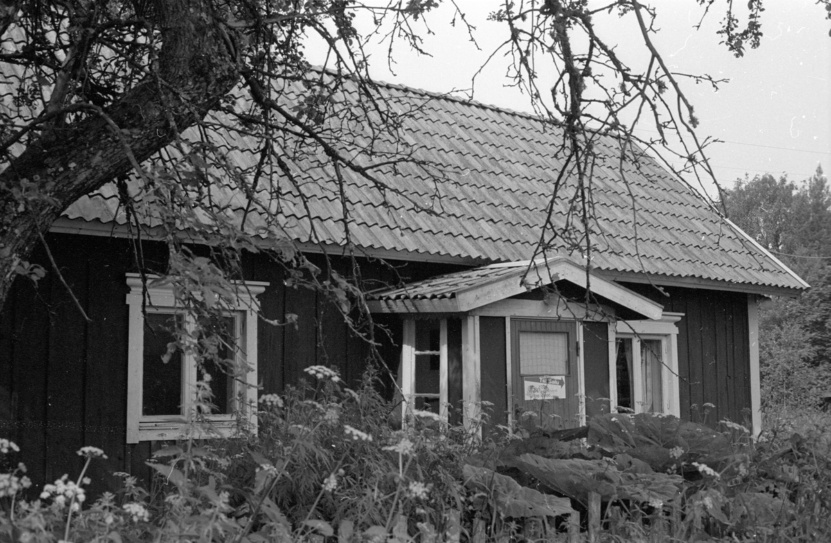 Bostadshus, Faringe 1:7, Faringe, Faringe socken, Uppland 1987.