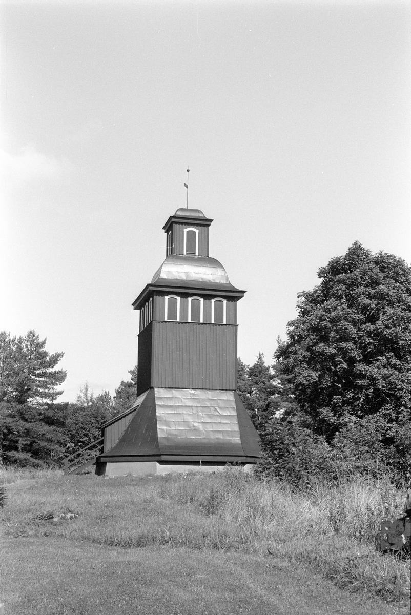 Klockstapel, Knutby 1:2, Knutby, Knutby socken, Uppland 1987