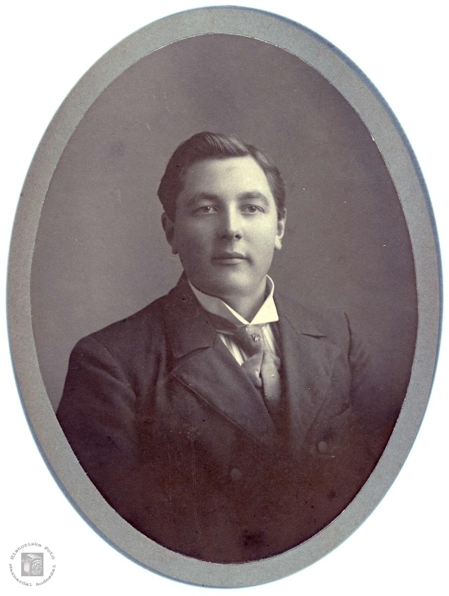 Portrett av Søren Solberg i Bjelland.