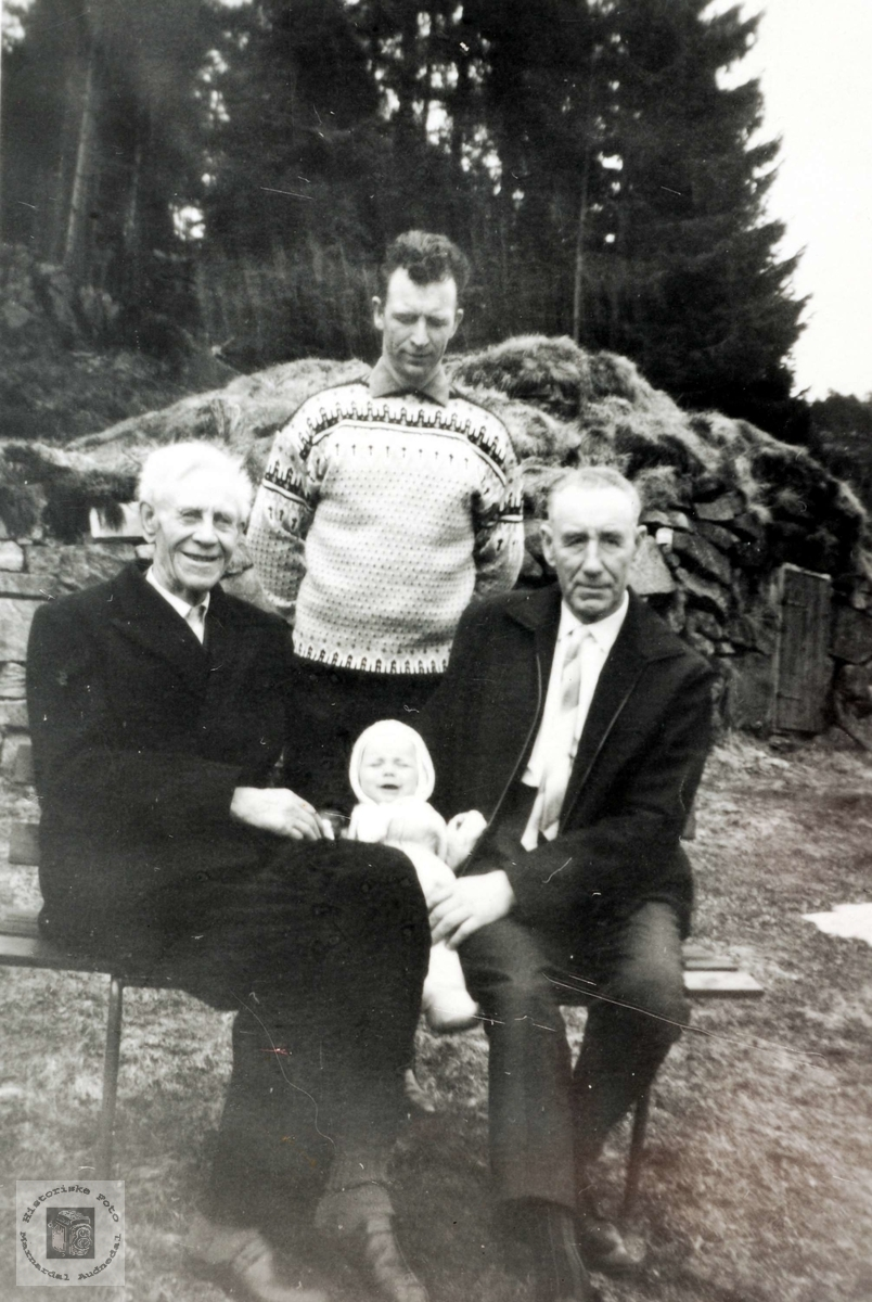 Fire generasjoner Leland fra Grindheim.