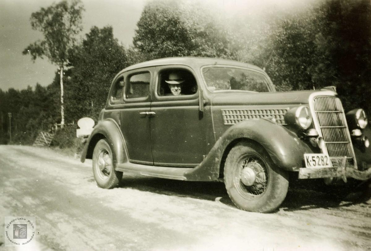 Bilen til Torgny Leland, Grindheim.