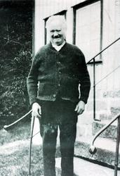 Portrett av Nils Øydna. Grindheim Audnedal.