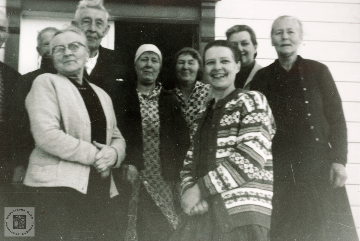 60 årsselskap Der ute på Høyland. Grindheim Audnedal.