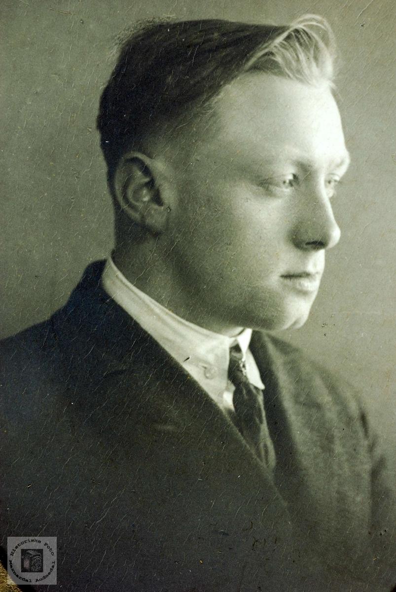 Portrett fra USA av Tore Refsnes. Grindhiem Audnedal.
