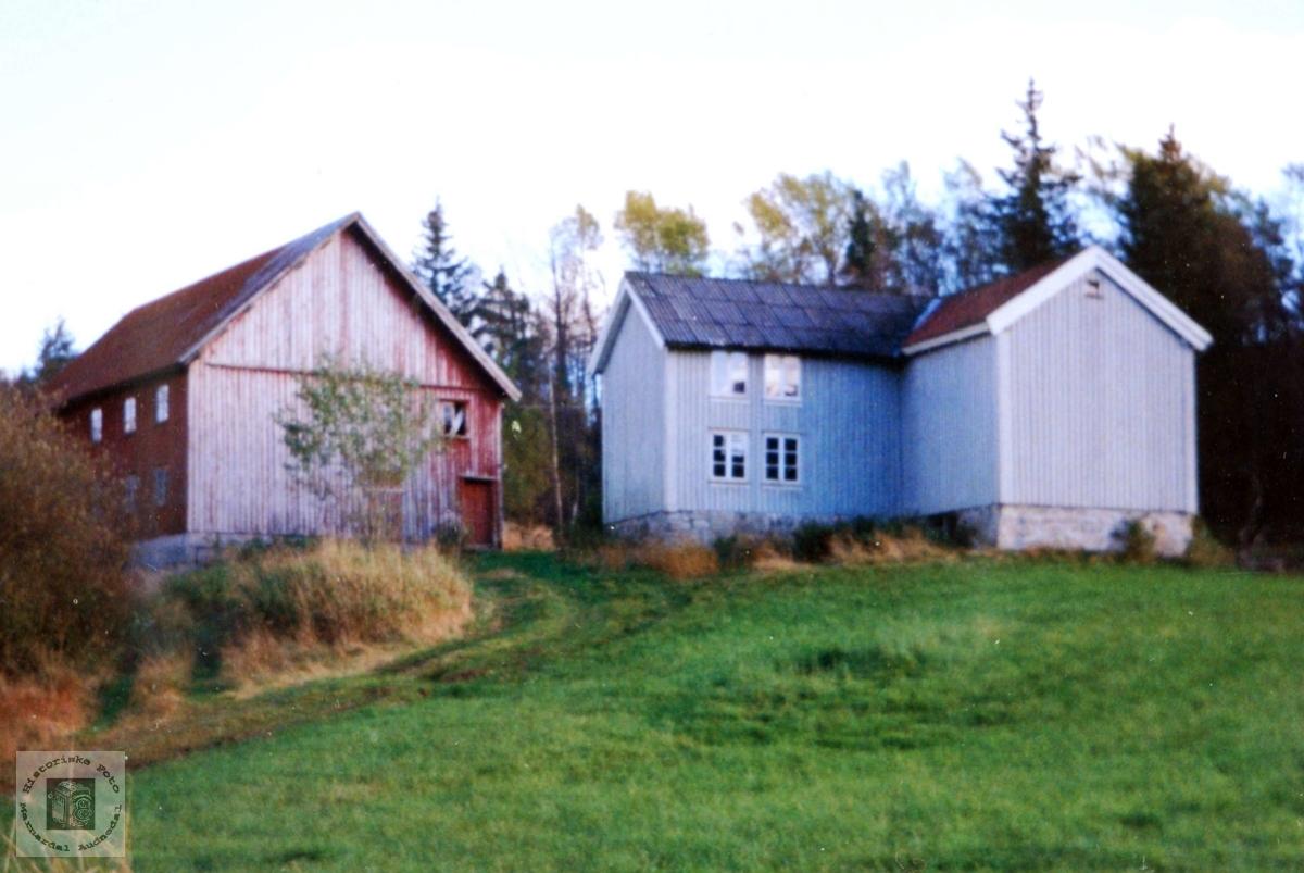 """Garden """"Der Aust"""" på Iveland i Konsmo. Audnedal."""