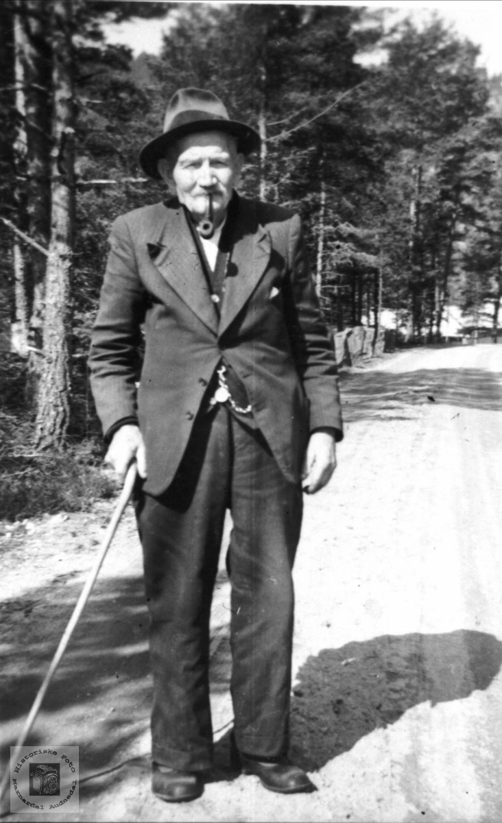 Portrett av Ånen Olson Bjerland, Bjelland.