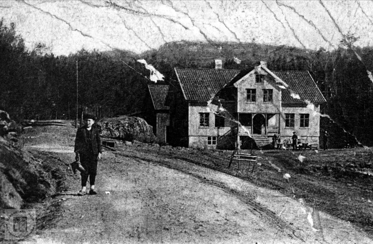 Hotellet på Foss, Nordgarden. Bjelland.