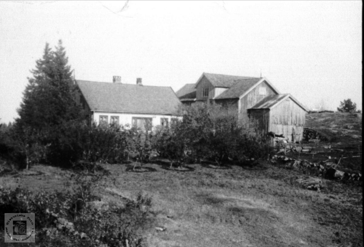 Gardsbruk Bosholt i Laudal.