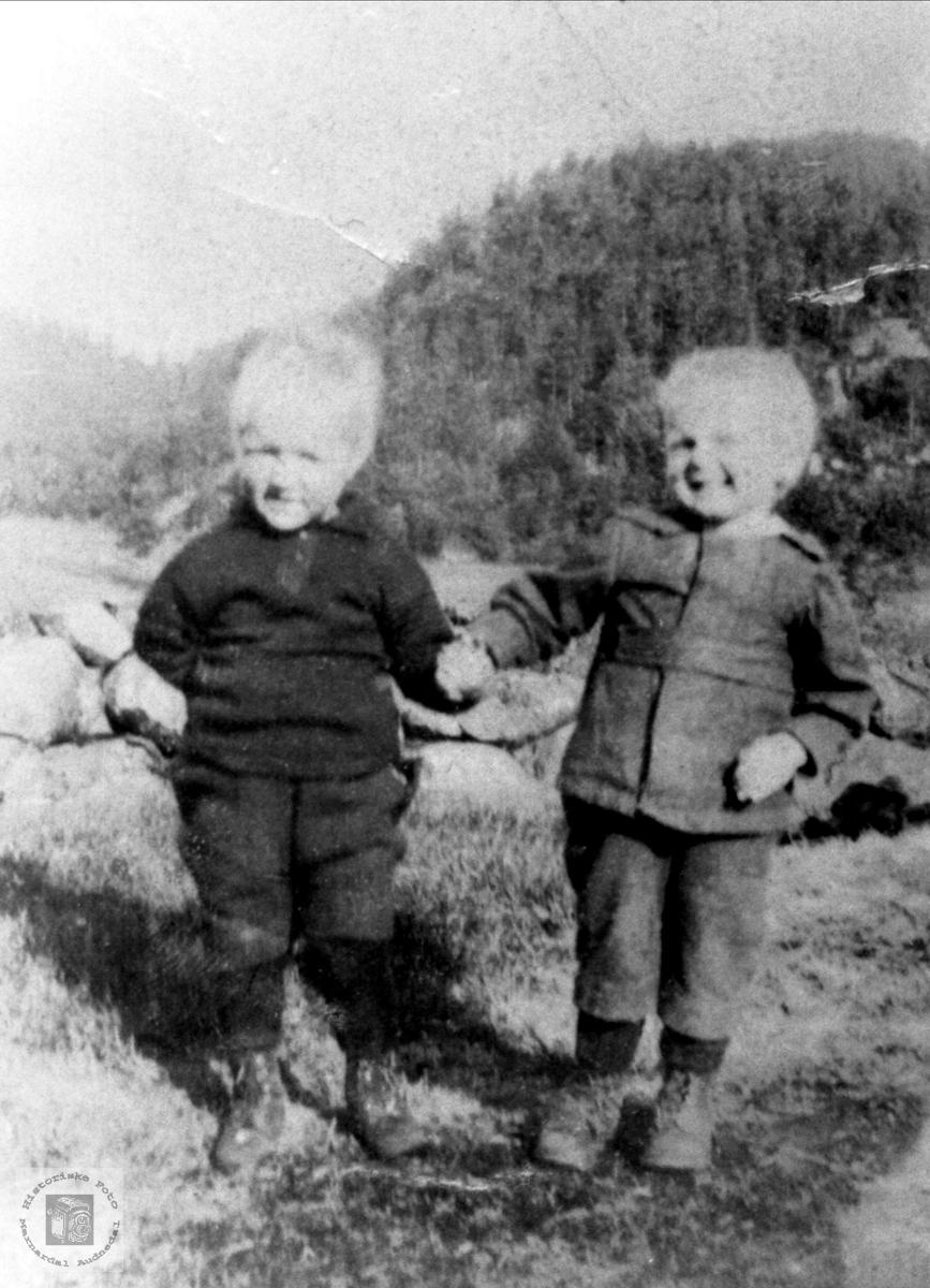 Barn på Finsådal, Øyslebø.