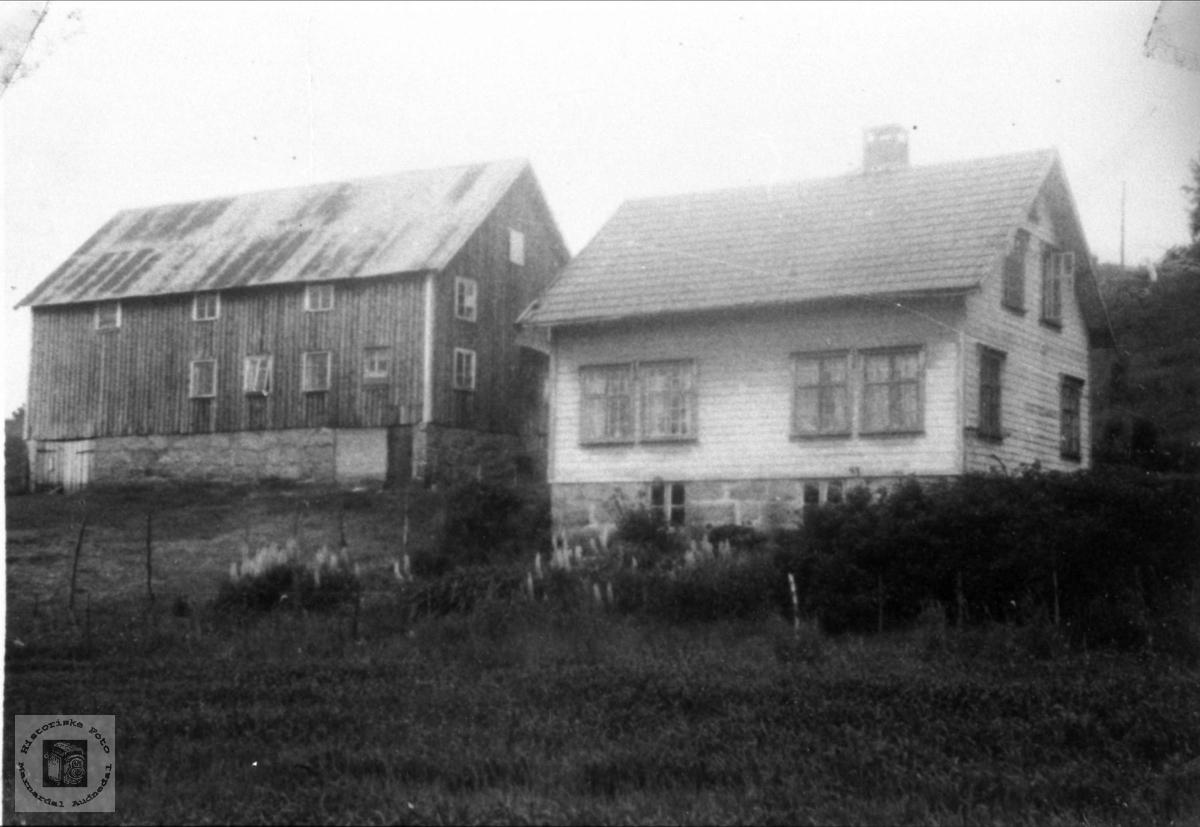 """Gård, """"Brokkan"""" på Grimestad i Øyslebø."""