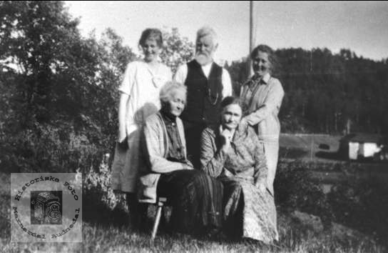 Familiegruppe Nøding Waaler Usland.