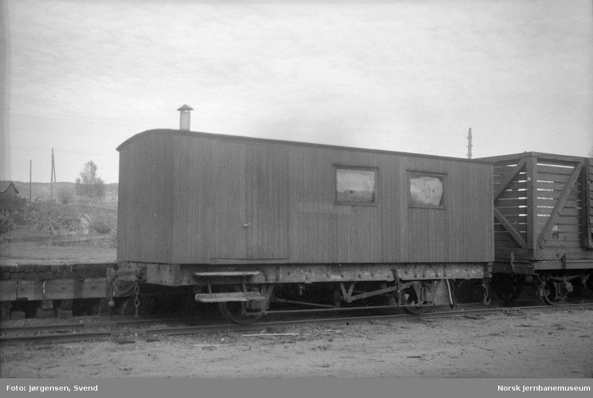 Setesdalsbanens losjivogn nr. 309