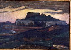 Varbergs fästning från söder