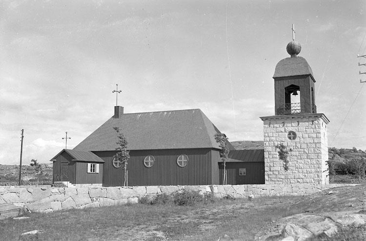 """Enligt AB Flygtrafik Bengtsfors: """"Havstenssund kapellet Bohuslän"""".  ::"""