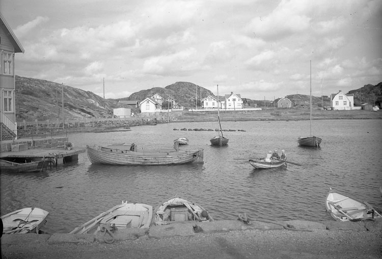 Stockevik på Skaftö, 1953.