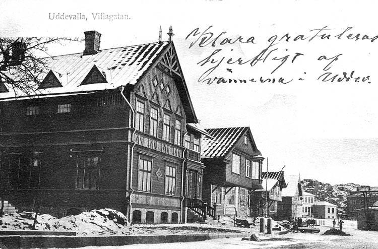 Uddevalla, Villagatan. ::