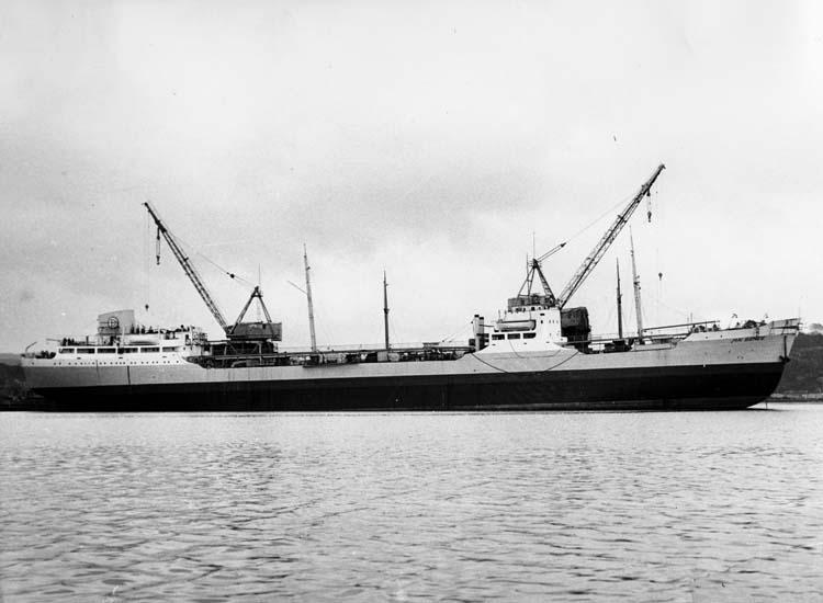 Provtur inför leverans av fartyg 106 M/T Mai Bente.
