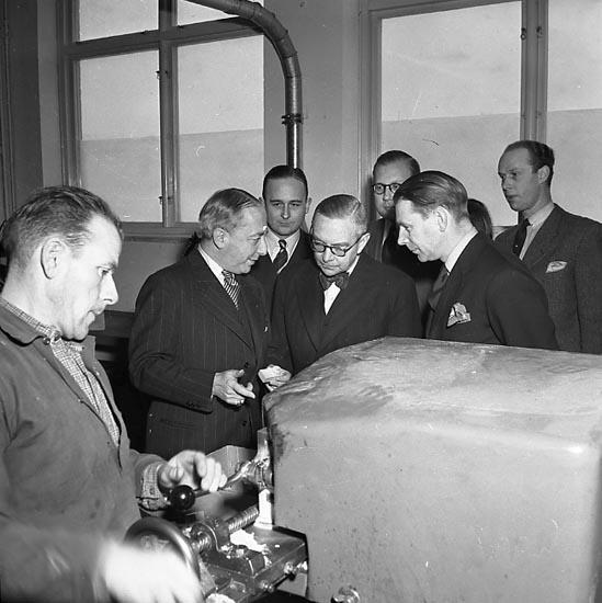 """Enligt notering: """"Norska ministrar Bokvecka 18/2 1947""""."""