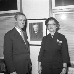 Medaljutdelning 1950-tal