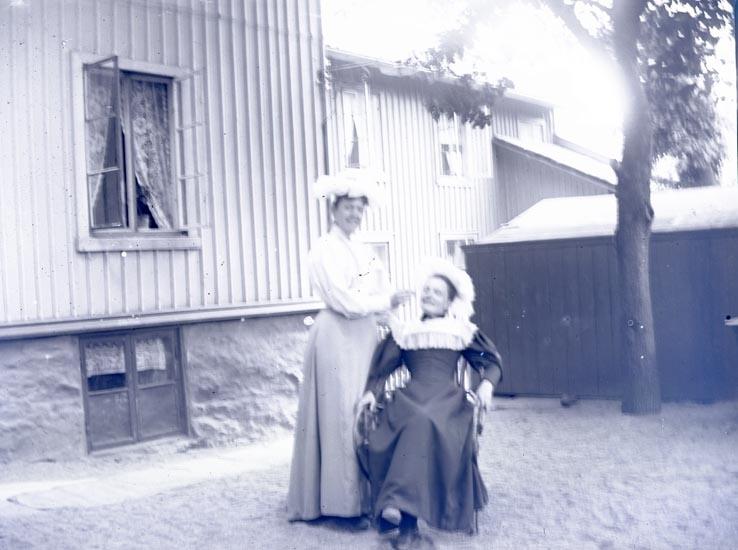 Tullförvaltarens trädgård, Juni 1896.