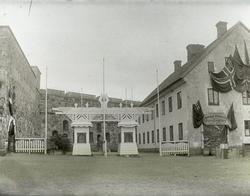 Entré till Nordisk Fiskeriutställning i Marstrand 1904