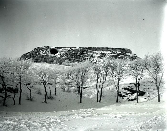 Borgen, S:t.Eriks kulle och Rimfrost. 29 dec 1927. 7 st. Kopierade.  ::