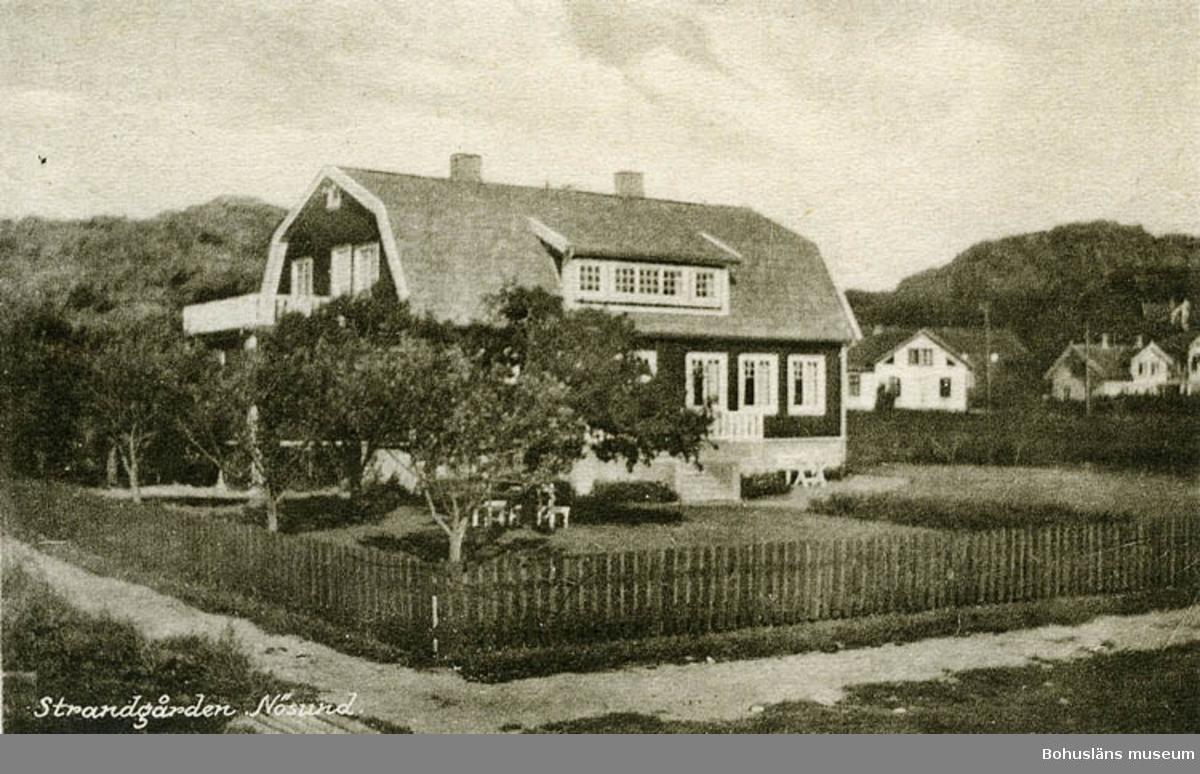 Strandgården, Nösund.