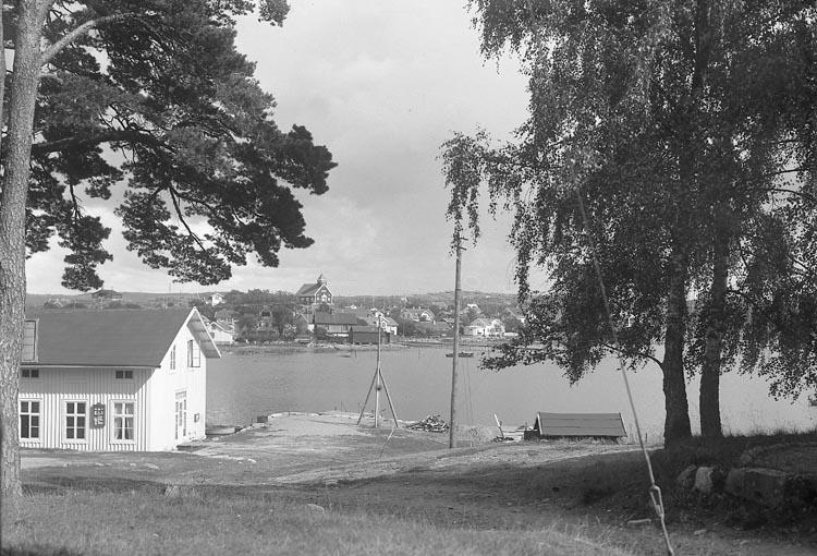 Enligt notering: Bryggan mot Stenungsund. ::