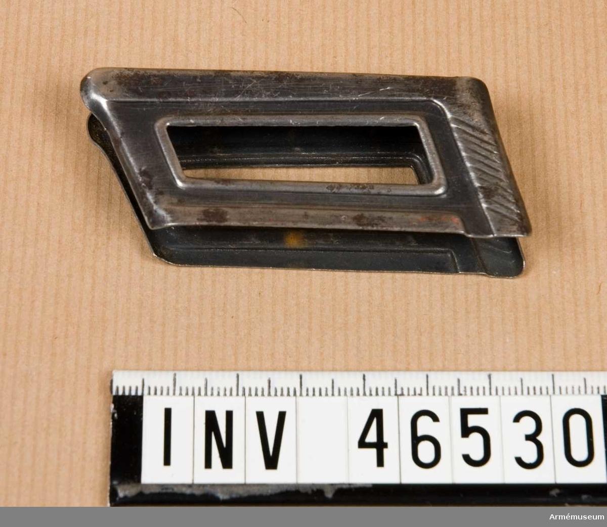 Grupp E V. Passar till gevär m/1895. Modellen använd i Grekland, Bulgarien och Ungern.