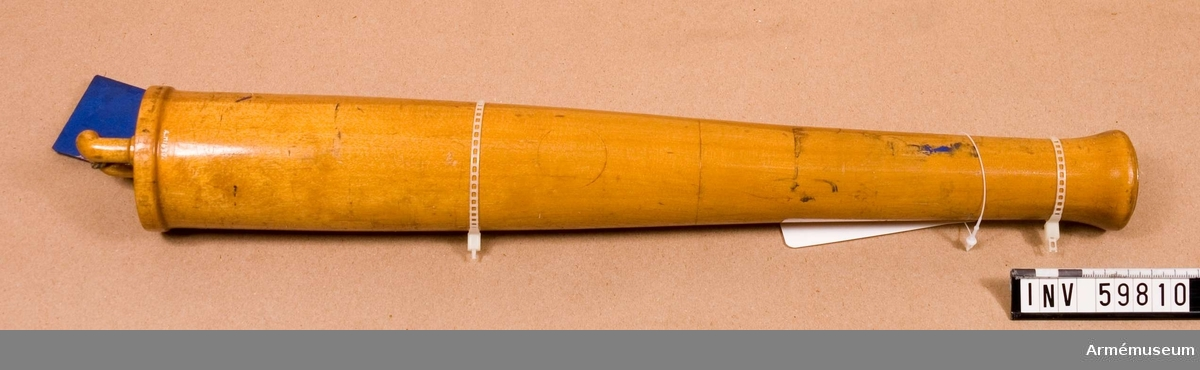 Grupp F I.  Till 8 cm framladdningskanon m/1863 för fältartilleriet.