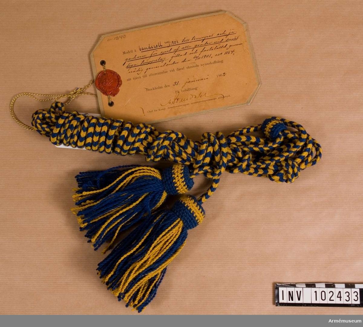 Trumpetbanderoll m/1901
