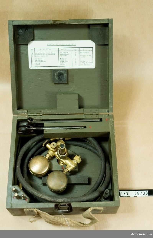 Gasanslutningsutrustning