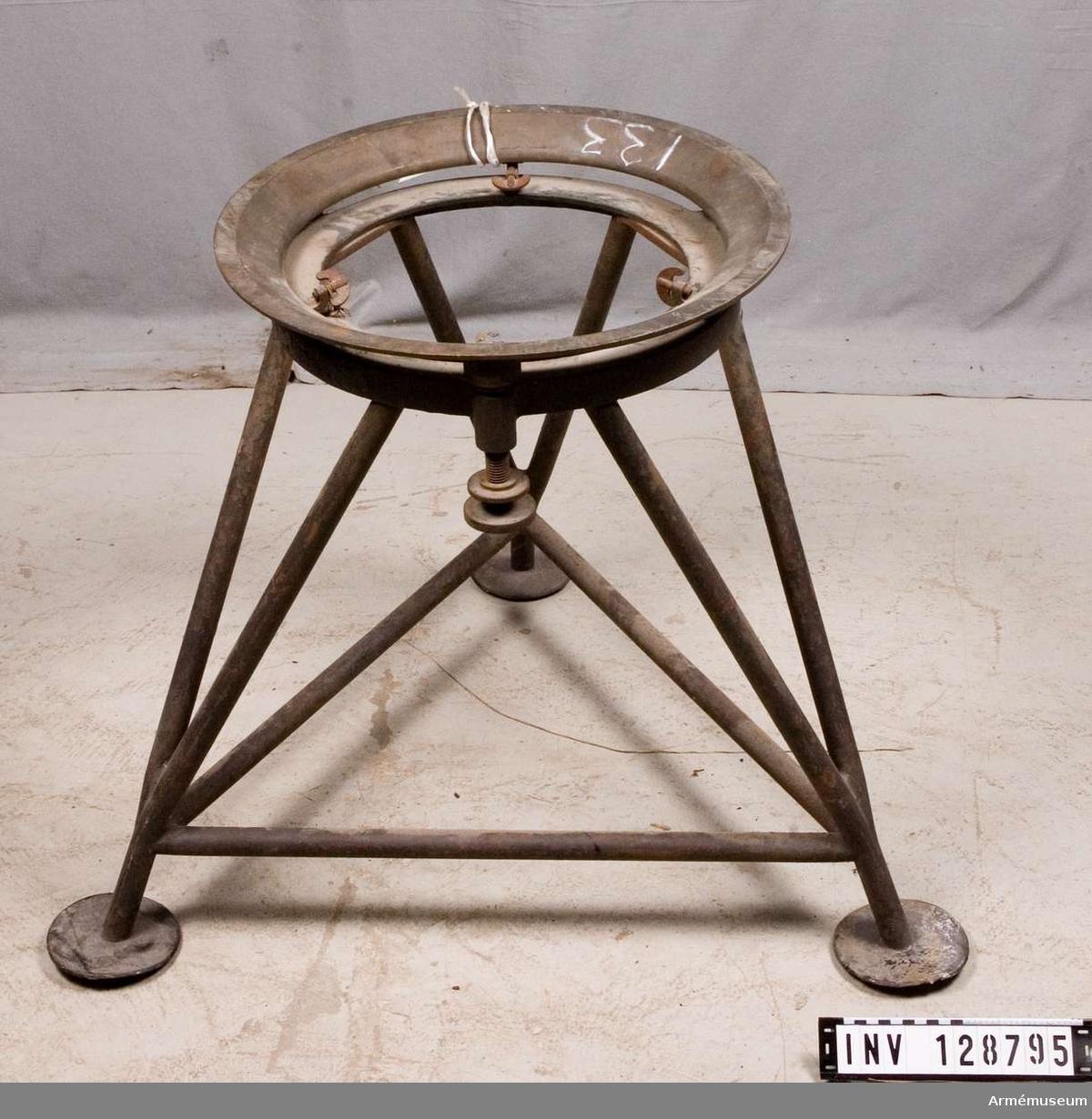 Stativ till centralinstrument fm/1932