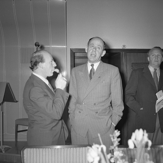 """""""Lysekil. Invigning av Hotellet. 1952.05.28"""""""