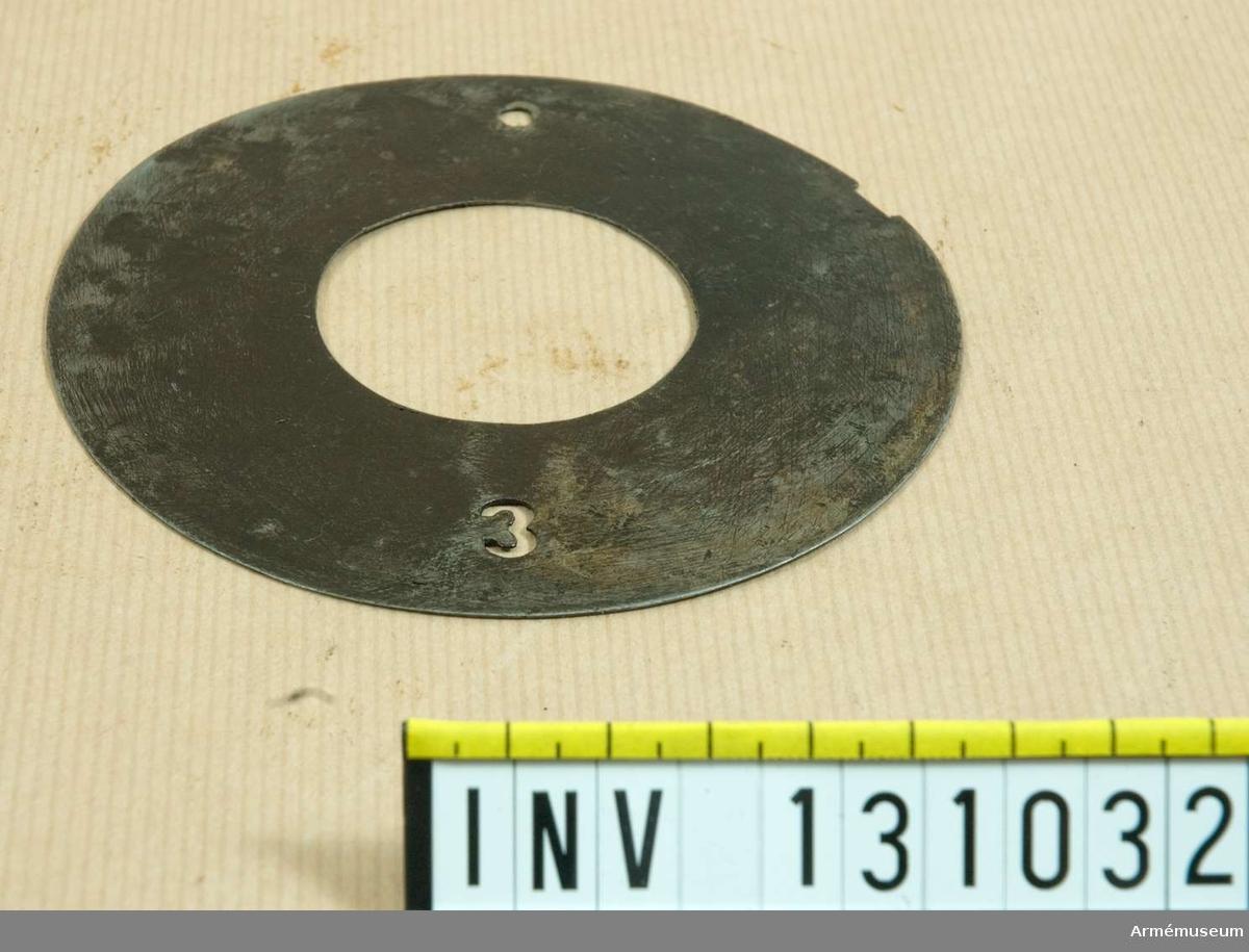 D 115 mm. 3.
