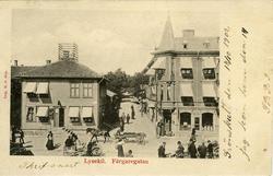 Notering på kortet: Lysekil. Färgargatan.